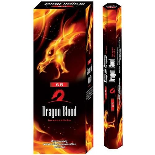 Ароматни пръчици Драконова кръв GR, 20 бр.