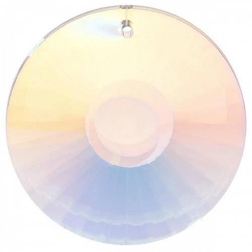 Фън шуй многоцветен слънчев кристал - кръгъл, suncatcher