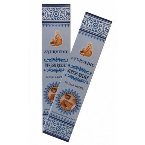 Аюрведични ароматни пръчици Stress Relief Масала 10 гр.
