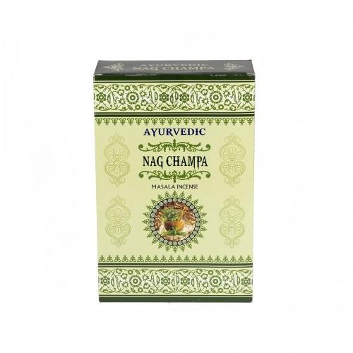 """Аюрведични ароматни пръчици """"Nag Champa"""" - Масала 10 гр."""