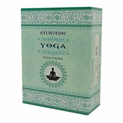 """Аюрведични ароматни пръчици """"YOGA"""" - Масала 10 гр."""